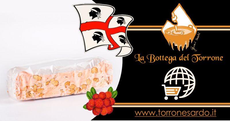 La Bottega del Torrone shop online - offerta torrone sardo al corbezzolo 200 gr
