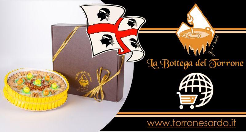 La Bottega del Torrone shop online - offerta torta di torrone sardo alla mandorla