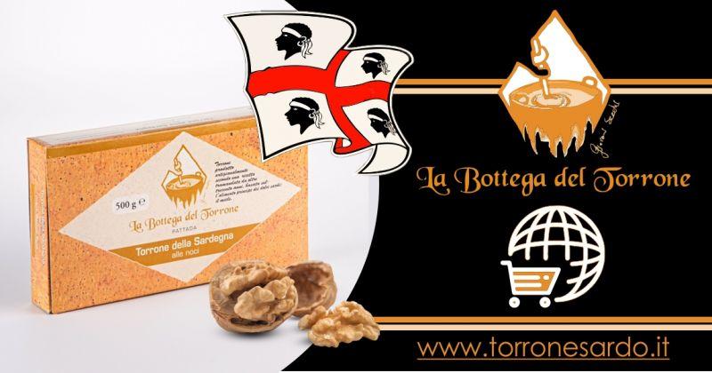 La Bottega del Torrone shop online - offerta torrone sardo alle noci 500 gr