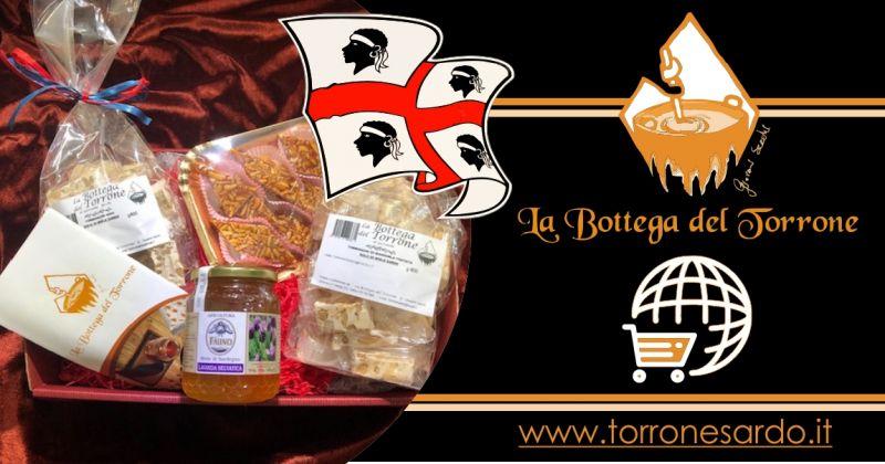 La Bottega del Torrone shop online - offerta cesti regalo prodotti tipici sardi
