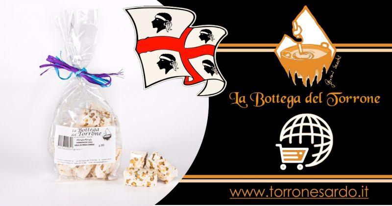 La Bottega del Torrone shop online - offerta torroncini sardi alle noci confezione 200 gr