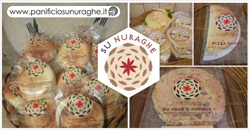 SU NURAGHE offerta pane tipico sardo vendita online - occasione prodotti da forno