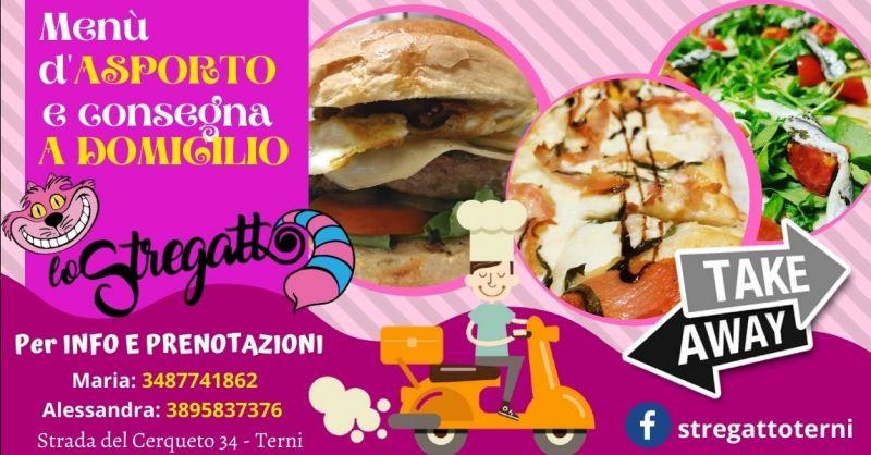 Offerta ristorante pizzeria con consegna a domicilio Terni - Occasione ristorante servizio asporto Terni