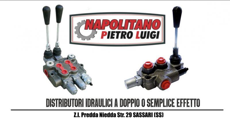 Napolitano Pietro Luigi - offerta vendita e riparazione distributori idraulici doppio o semplice effetto
