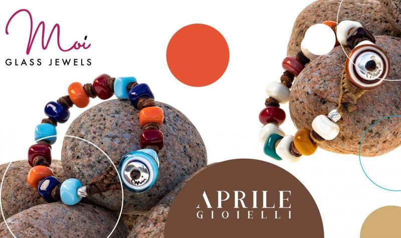 offerta Braccialetti Moi Glass online da Aprile Gioielli