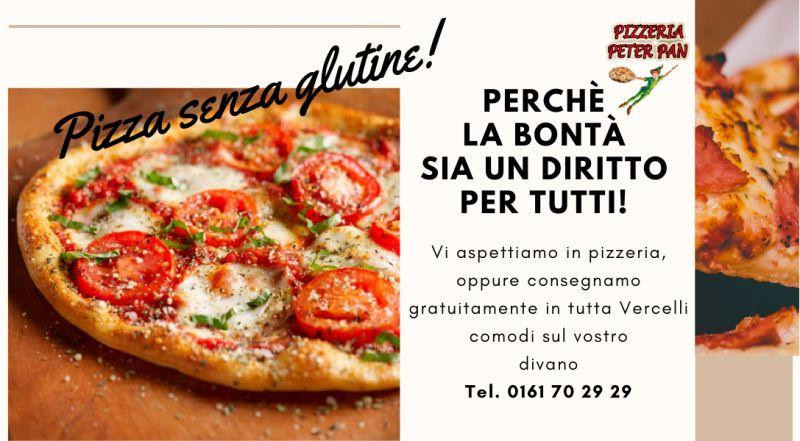 Vendita pizza senza glutine da asporto a Vercelli a Novara – Occasione pizzeria con pizza senza glutine a Vercelli a Novara