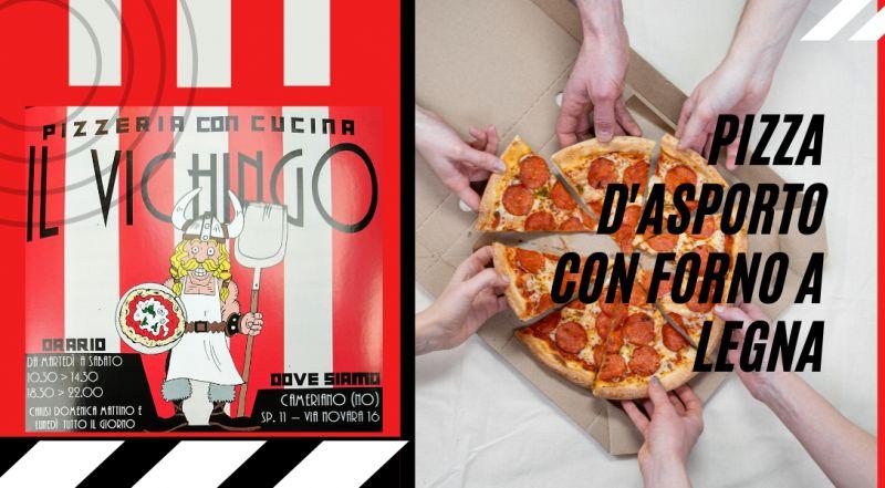 Occasione pizzeria a Novara con consegna a domicilio a Novara – Offerta pizzeria d'asporto con pizza cotto con forno a legna a Novara