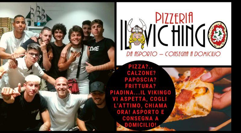 Vendita pizza calzone paposcia fritture e piadina con consegna gratuita a Novara – occasione pizzeria d'asporto con consegna gratis a Novara