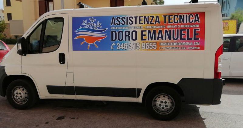 DORO EMANUELE - offerta assistenza tecnica specializzata impianti condizionamento e refrigerazione civili e industriali