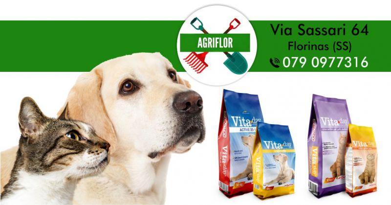 AGRIFLOR - offerta crocchette Giuntini Vitaday per cane e gatto