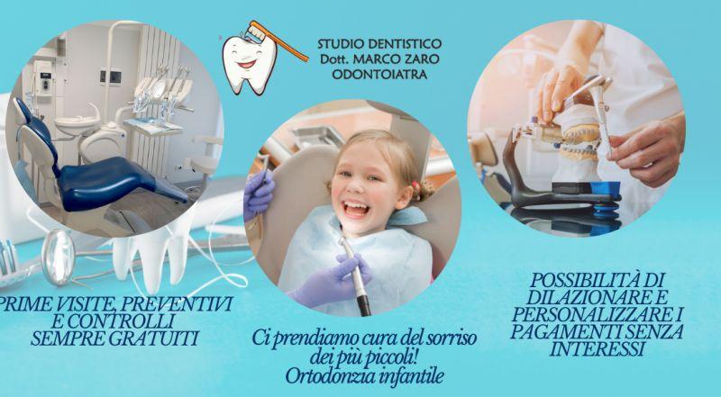 Occasione studio dentistico specializzato in ortodonzia infantile a Pordenone – offerta studio dentistico con prime visite dentistiche sono sempre gratuiti a Pordenone