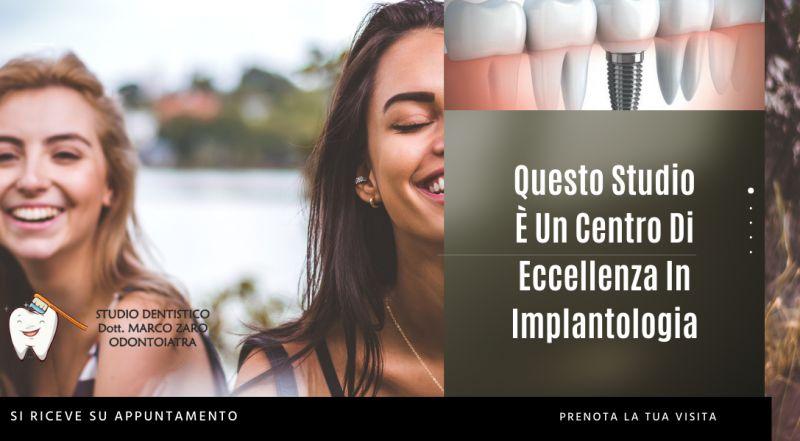 Offerta studio dentistico specializzato in implantologia a Pordenone – Occasione impianti in titanio dentista a Pordenone