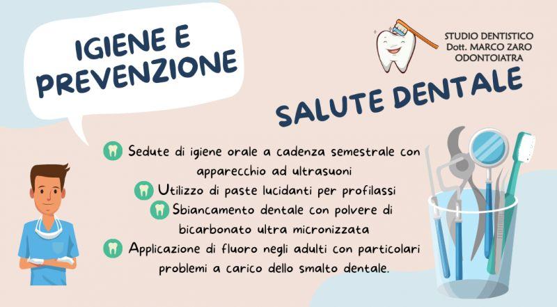 offerta studio dentistico specializzato in Sbiancamento dentale con polvere di bicarbonato a Pordenone – Occasione igiene e prevenzione orale a Pordenone