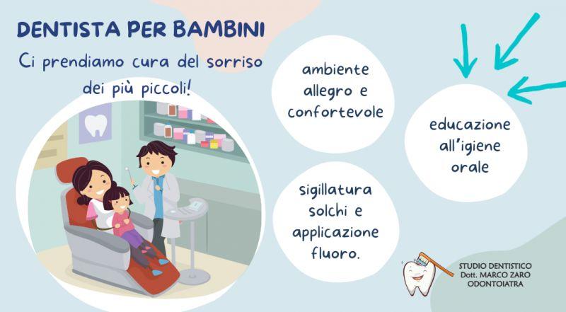 offerta studio dentistico specializzato Ortodonzia infantile a Pordenone – Occasione studio dentistico per bambini a Pordenone