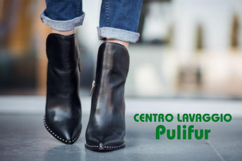 CENTRO LAVAGGIO PULIFUR offerta igienizzazione scarpe – promozione lavaggio calzature pelle