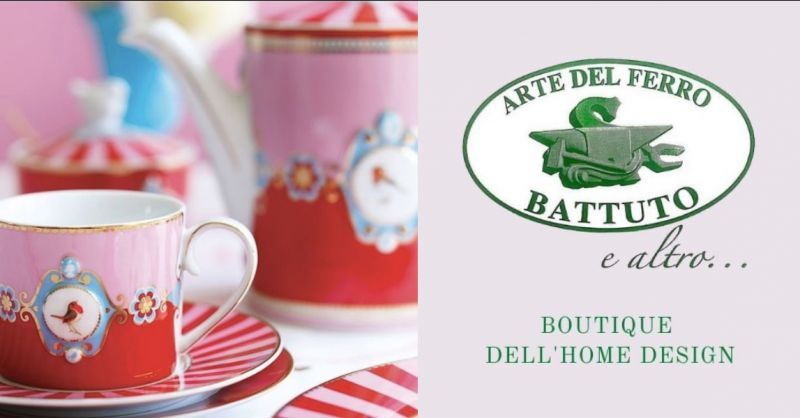 ARTE DEL FERRO BATTUTO E ALTRO - Offerta zuccheriera e servizio te by Pip Studio Catania