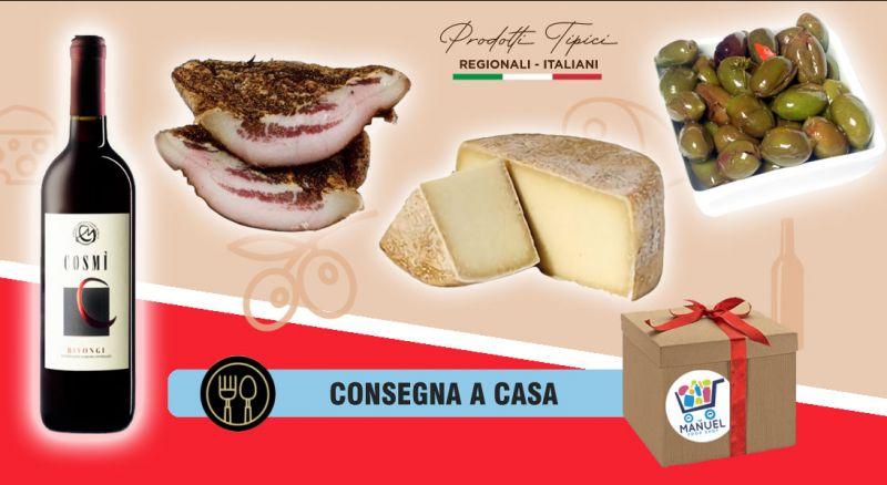 Offerta food box degustazione con prodotti calabresi cosenza - promozione prodotti tipici calabresi consegna a domicilio carolei