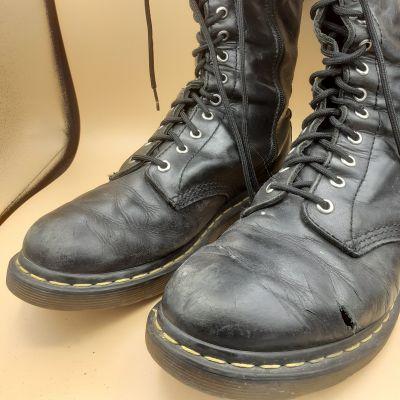 shoes care stuccatura e ripristino colore