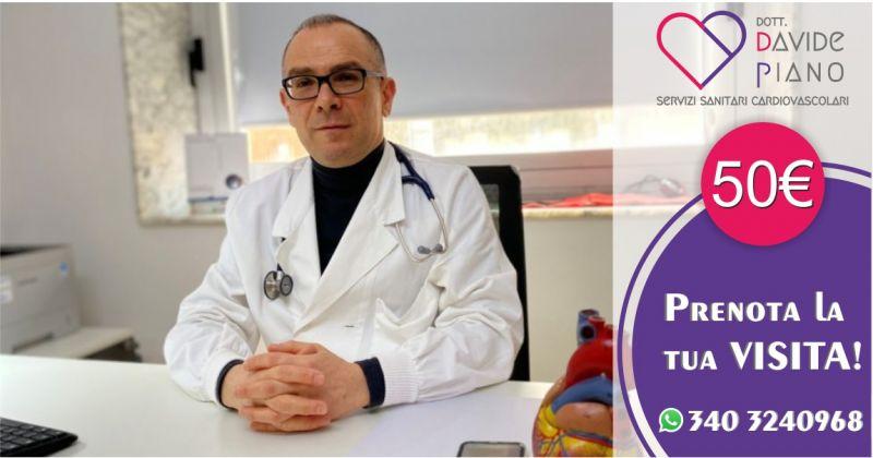 Dott Davide Piano cardiologo Cagliari - offerta visita cardiologica completa con elettrocardiogramma