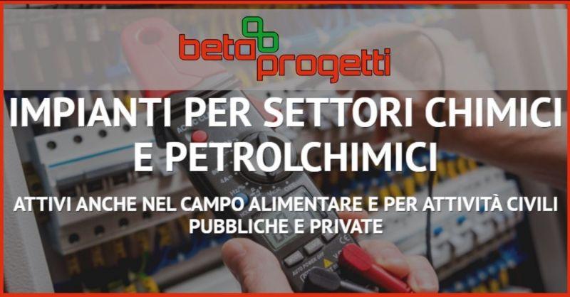 BETA PROGETTI - occasione impianti per settori chimici e petrolchimici