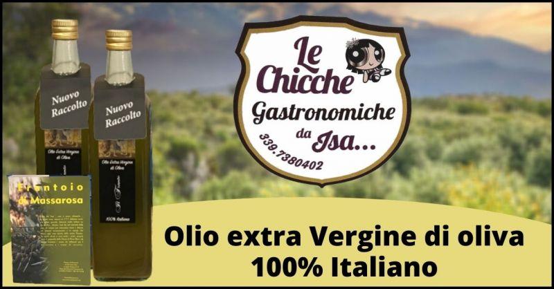 occasione olio nuovo extravergine di oliva Versilia - GASTRONOMIA DA ISA