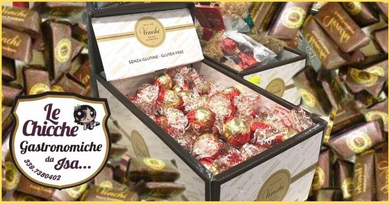 occasione cioccolato Venchi senza glutine Versilia e Lucca