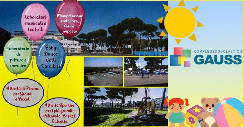 Offerta centro ricreativo per bambini Roma Bufalotta - occasione centro estivo per ragazzi Roma