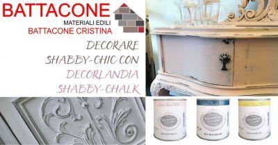 battacone cristina offerta vernici decorlandia shabby chalk