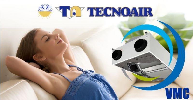 TECNOAIR Nuoro  -  offerta installazione impianti VMC  Ventilazione Meccanica Controllata centralizzata