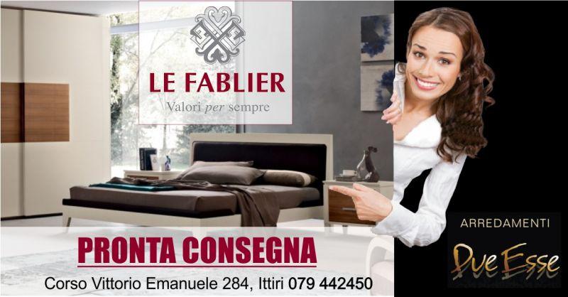 ARREDAMENTI DUE ESSE - promozione camera da letto Le Fablier  linea contemporanea Melograno