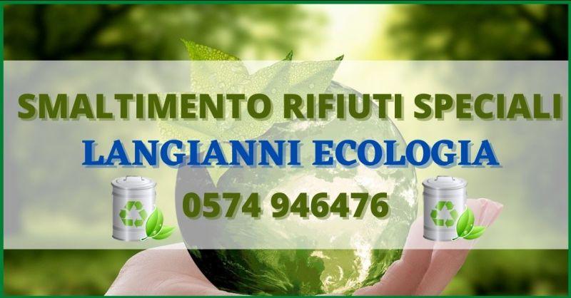 occasione smaltimento rifiuti pericolosi Prato e Toscana – AUTOTRASPORTI LANGIANNI