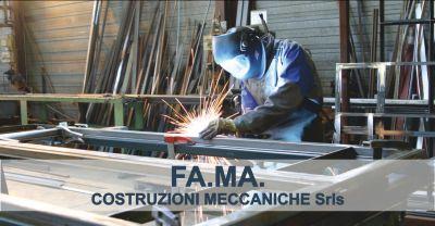 fa ma costruzioni meccaniche offerta saldatura occasione carpenteria metallica massa carrara