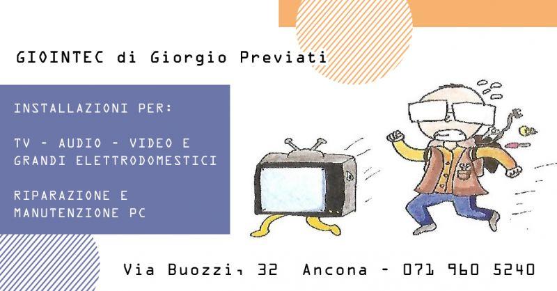 Offerta Installazioni TV Ancona - Occasione Installazione Video Audio Ancona