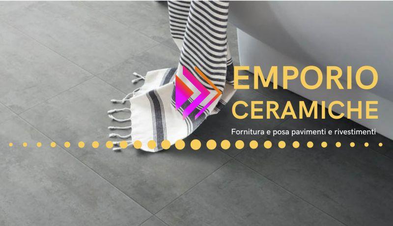 EMPORIO CERAMICHE GROUP fornitura pavimentazioni esterne – posa rivestimenti interni laminato