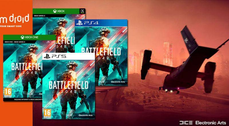 Offerta preordine Battlefield 2042 per PS5 e Xbox Series X bari - promozione preordine online Battlefield 2042 bari