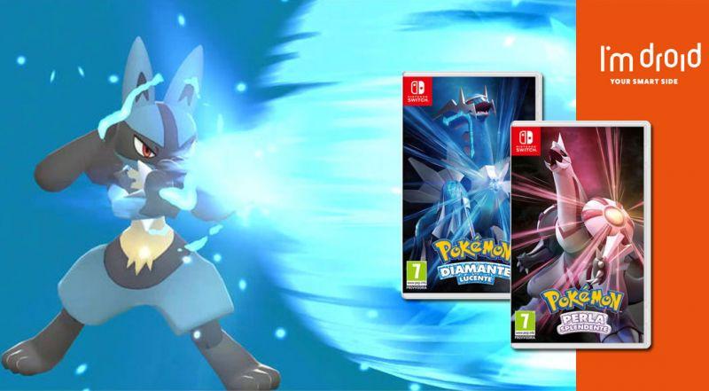 Offerta Preordine Pokemon Diamante Lucente Nintendo Switch bari - promozione Preordine Pokemon Perla Splendente Nintendo Switch bari
