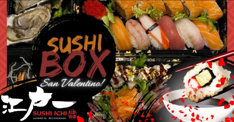 SUSHI ICHI offerta box cena per due catania - occasione sushi box take away riposto