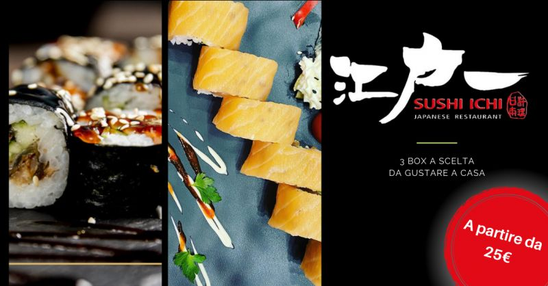 SUSHI ICHI Offerta all you can eat Riposto - occasione all you can eat sushi Catania