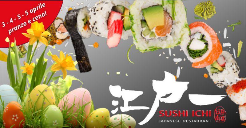 Offerta ristorante sushi aperto a Pasqua Riposto - occasione ristorante aperto a Pasqua Catania
