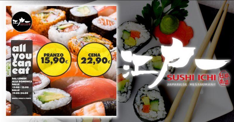 Offerta ristorante all you can eat Catania - occasione ristorante sushi all you can eat Riposto