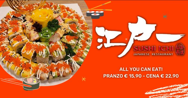 Offerta sushi pranzo all you can eat Riposto - occasione cena con sushi all you can eat Catania