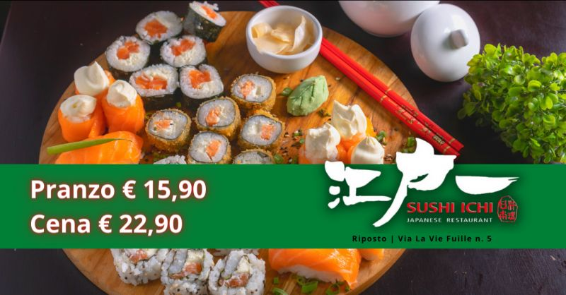 Offerta pranzo all you can eat Riposto - trova il miglior sushi all you can eat a Catania