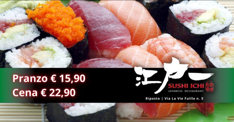 Offerta all you can eat pranzo Catania - occasione sushi con cena all you can eat Riposto