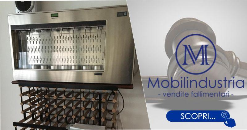 MOBILINDUSTRIA SRL - offerta Enomatic distributore vini automatico 8 bottiglie refrigerato