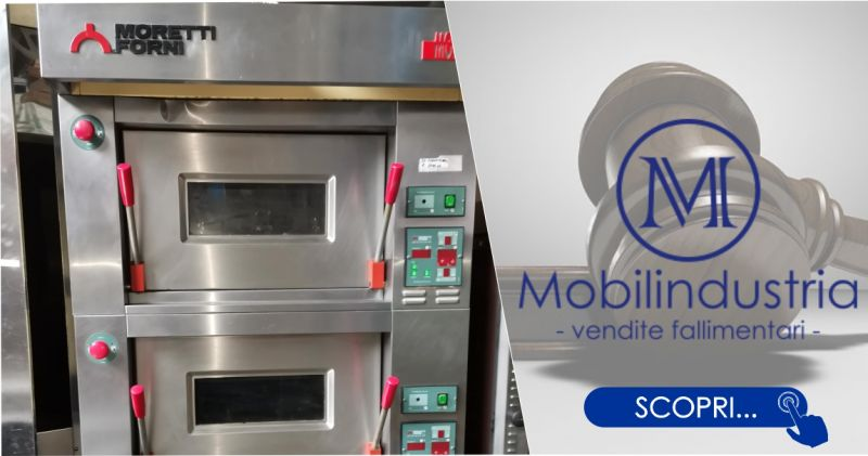 MOBILINDUSTRIA SRL - offerta forno pizza elettrico Moretti due camere