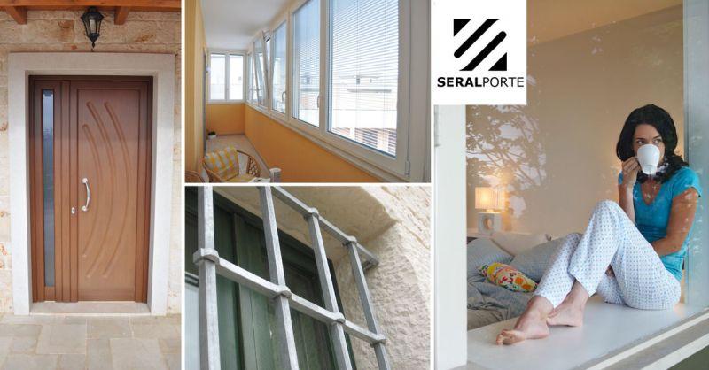 Seralporte - offerte posa in opera di finestre su misura Bari - promozioni posa in opera portoncini e porte interne locorotondo bari