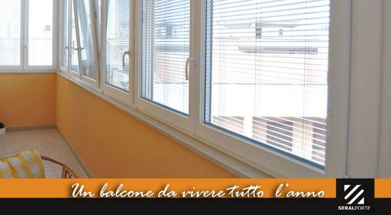 Offerta trasformare balcone in veranda bari - promozione finestre in PVC Finstral bari