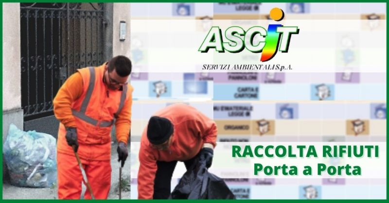 offerta raccolta rifiuti porta a porta Capannori - ASCIT SERVIZI AMBIENTALI SPA