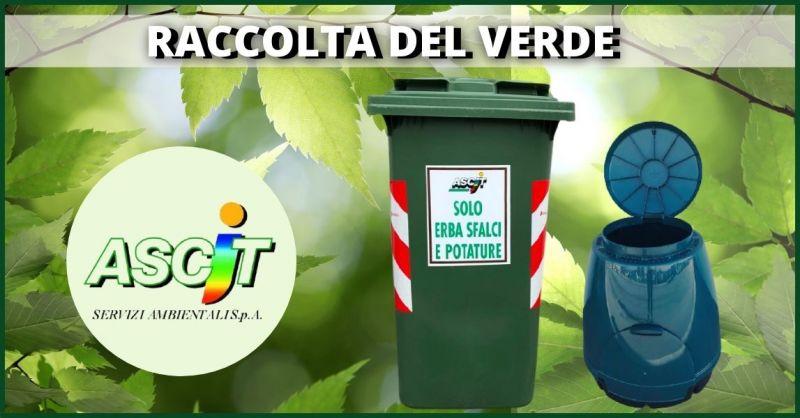 offerta raccolta verde e smaltimento piccoli quantitativi di sfalci e potature - ASCIT SERVIZI AMBIENTALI