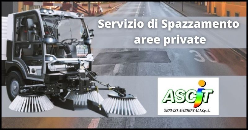 promozione pulizia e spazzamento aree private Capannori - ASCIT SERVIZI AMBIENTALI